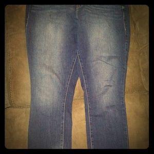Torrid medium fade boyfriend jeans